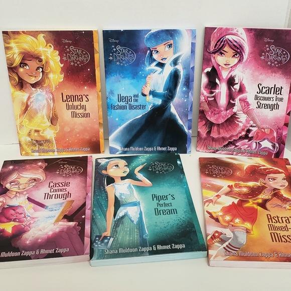 Disney Star Darlings Books Lot Of 6